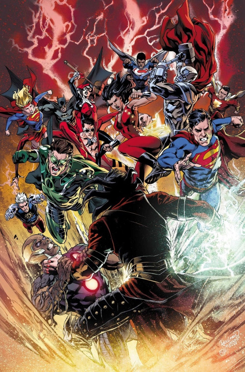 Demythify DC Comics Convergence Spoilers Heading Into Convergence 6 Art From 7  8 Plus