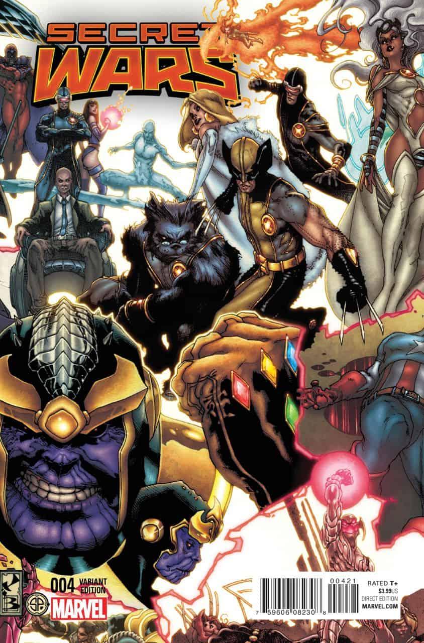 Marvel Comics Review  Spoilers Secret Wars 4 By