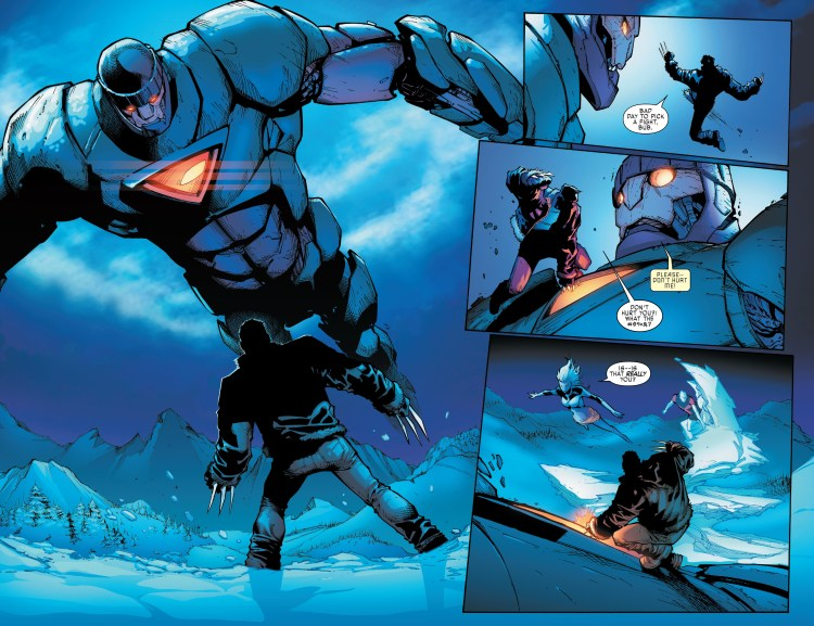 Old Man Logan in Extraordinary X-Men #1