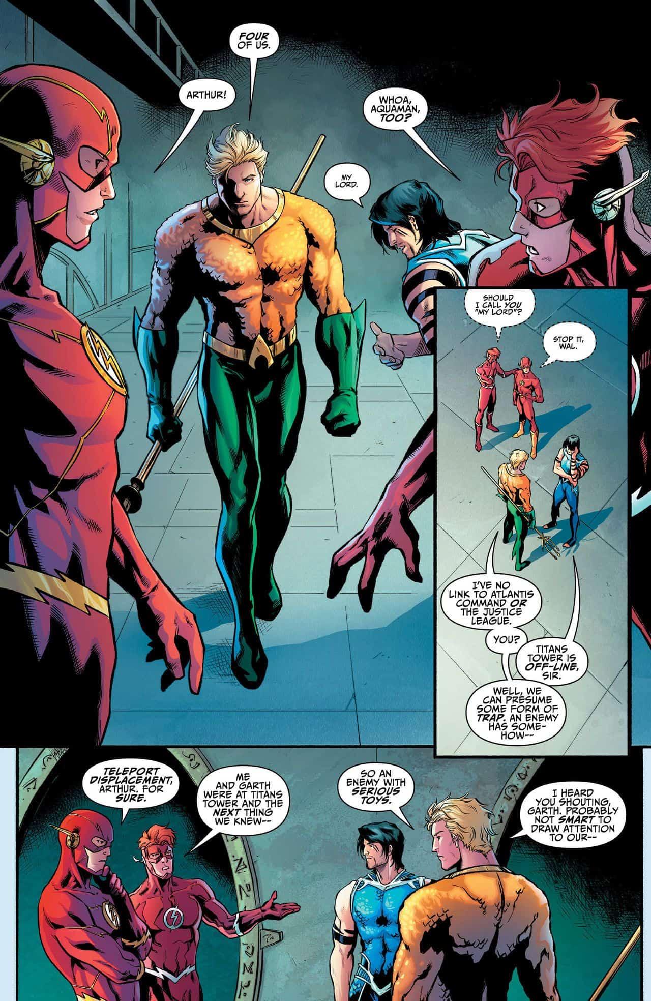 DC Comics Rebirth Spoilers: Teen Titans Annual #1 Has Justice League ...