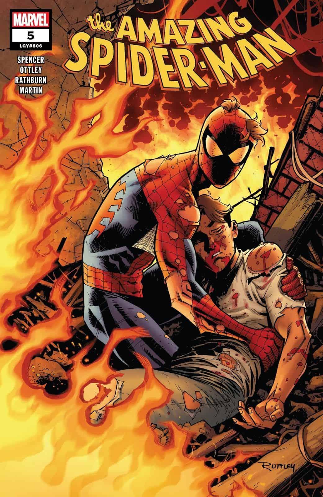 Marvel Comics Universe Amp Amazing Spider Man 5 Spoilers
