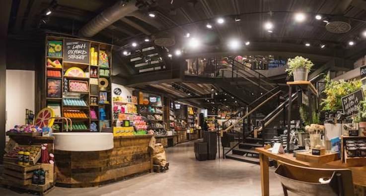Lush Oxford Street, Oxford Street, London, Lush, Lush, retail design, retail innovation, trend tours