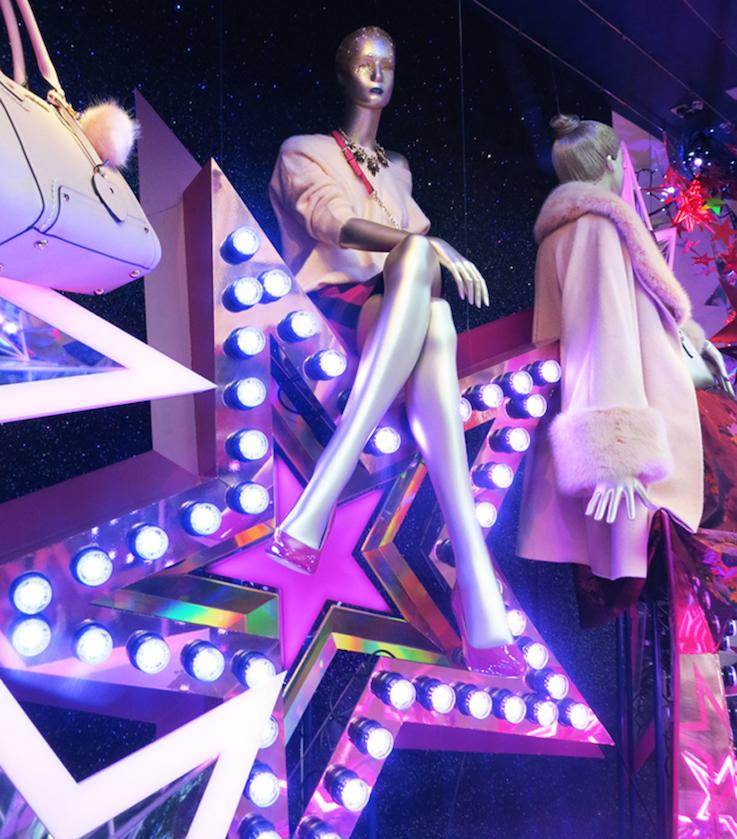 retail trends, visual merchandising, Christmas shopping, visual merchandising and store design, London retail trends,