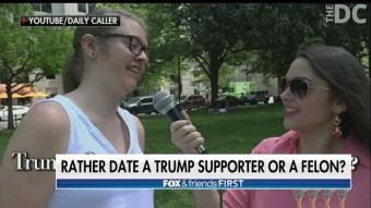 WATCH: More Millennials Would Rather Date a Convicted Felon Over a Trump Supporter