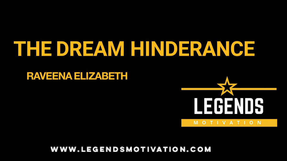 The Dream Hindrance: How to Perfectly Control Your Goals