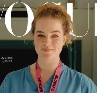 Касирка, акушерка й машиністка: дівчата-герої боротьби з пандемією на обкладинці Vogue