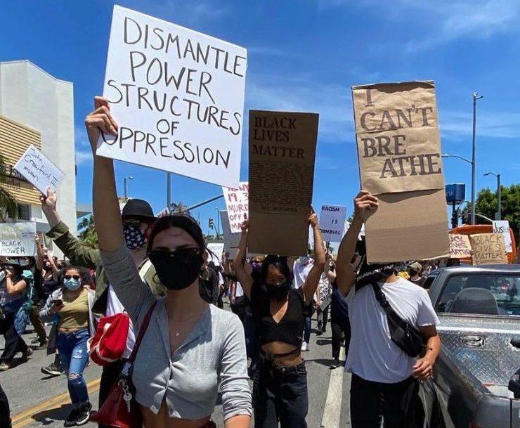 #BlackLivesMatter: в соцмережах підтримують протистувальників в США