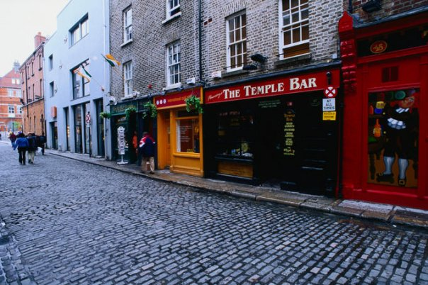Temple Bar District Ireland
