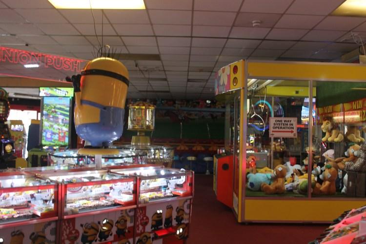 North pier arcade