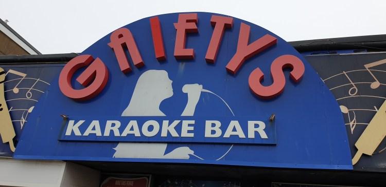 Gaietys Blackpool Karaoke bar