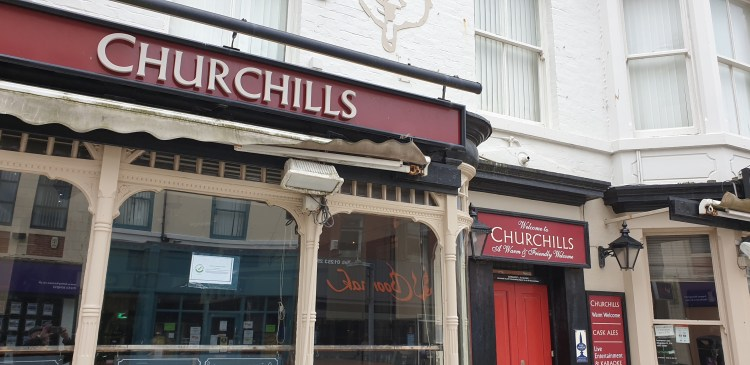 Churchills Pub Blackpool