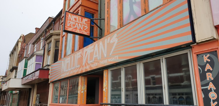 Blackpool karaoke bar Nellie Deans