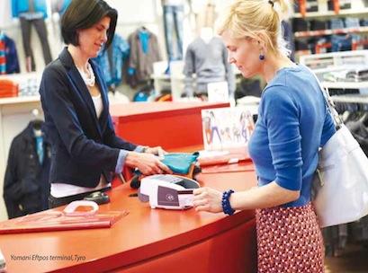 POS, credit card, payment, shopper