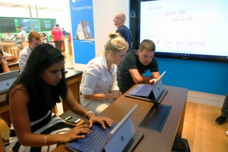 02 Hour of Code in the Microsoft Store