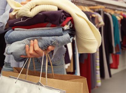 Shopping, bags, fashion, clothing