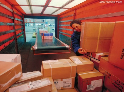 Infor, delivery, logistics, boxes