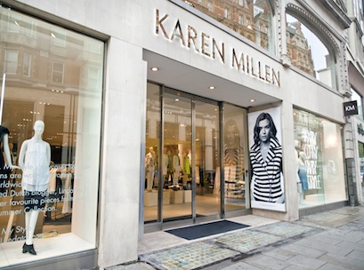 Karen millen london flagship