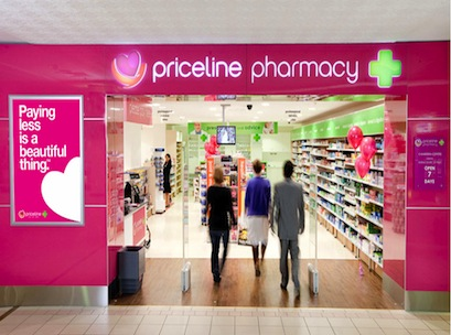 Priceline, pharmacy, API