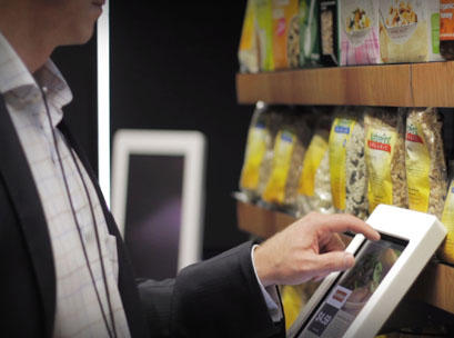 ipad, supermarket, technology