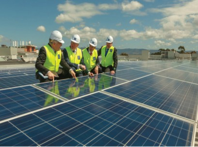Stockland-solar-panel