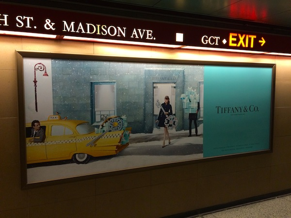 Tiffany Christmas campaign, Grand Central