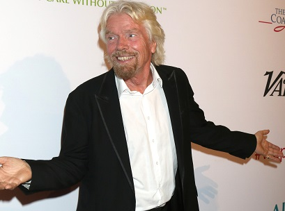 LOS ANGELES - MAY 12:  Sir RIchard Branson at the Power Up Gala