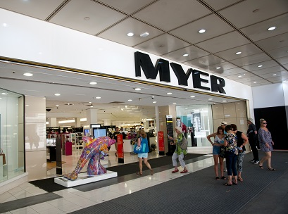 Image of a Myer storefront