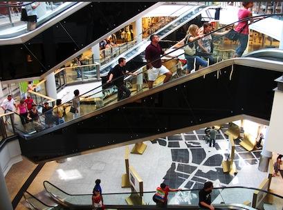 shopping centre,centre,shopping,escalator,mall,plaza,complex,consumer,sales