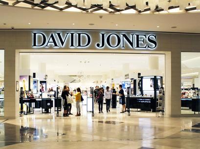 David Jones, DJs, department store