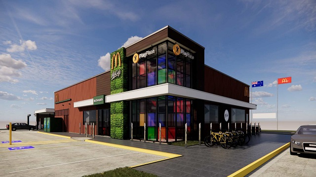 Image of mcdonald's store in melton south