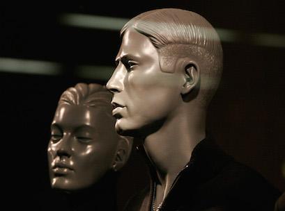 mannequin, man, shopping, wondow