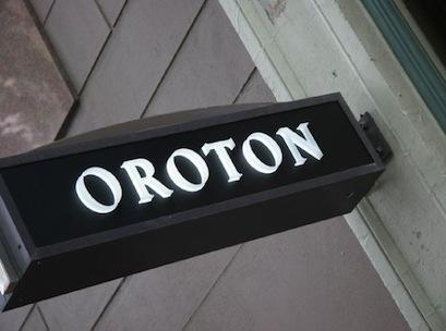 oroton sign