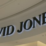 Photo of David Jones signage