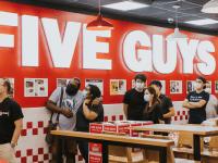 Five Guys opens first Australian outlet