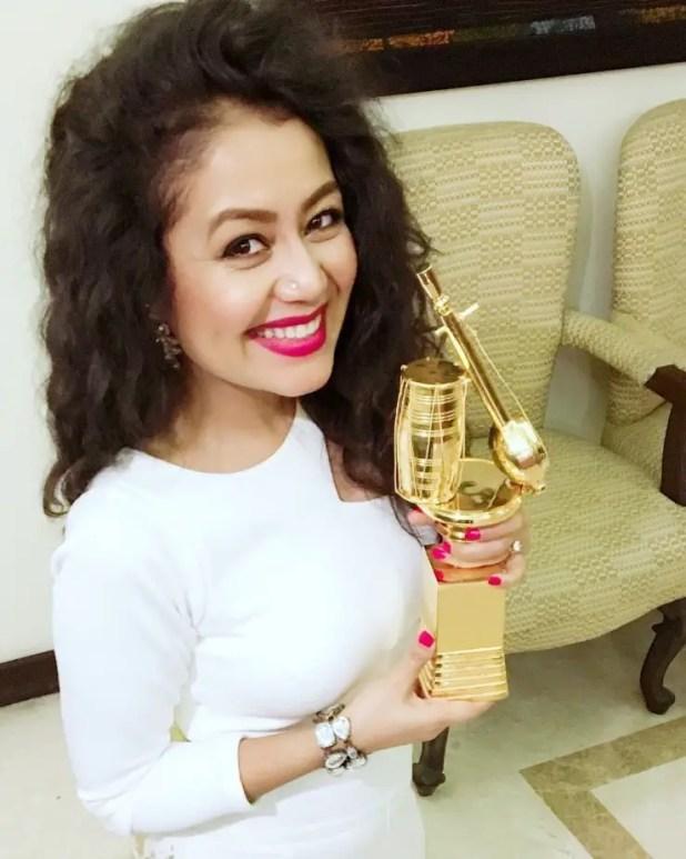 Happy moment of singer Neha Kakkar