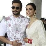 Deepika Padukone and her husband Ranveer Singh photo