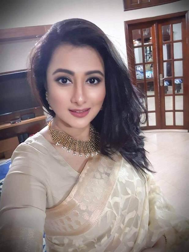 Actress Purnima in Saree