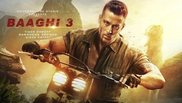 Baaghi3 movie banner