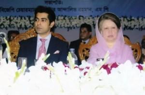 Former prime minister Begum Khaleda Zia Andaleeve Rahman Partho