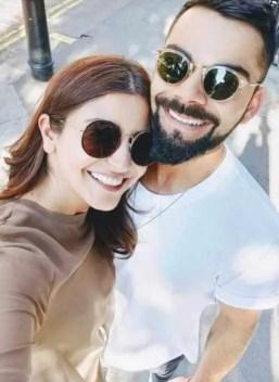 Anushka Sharma Romantic Selfie with Virat