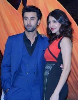 Anushka Sharma with Ranbir Kapoor