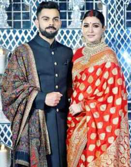 Anushka Sharma with her husband