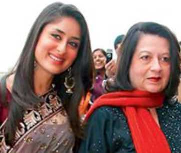 Kareena Kapoor with her mother