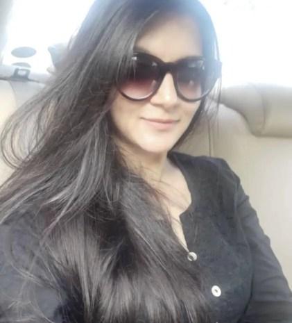 Mithila in car
