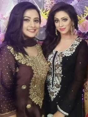 Sadika Parvin Popy with Purnima