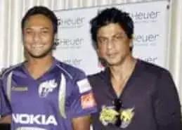 Shah Rukh Khan with shakib al hasan