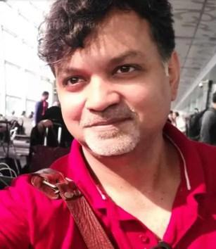 Srijit Mukherjee Selfie