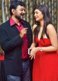 Srijit Mukherjee With Ritabhari Chakraborty