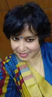 Taslima Nasrin Selfie Photo