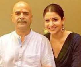 Anushka Sarma with her father